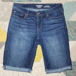 Levi's Denizen Bremuda Style Jean Shorts 6